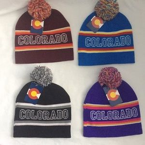 Colorado Beanie Hat -choose one or more